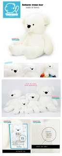 NEW GIANT stuffed TEDDY BEAR 60 FAT in LG tromm cf