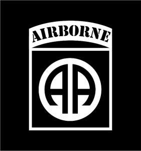 82nd Airborne REFLECTIVE die cut vinyl decal sticker