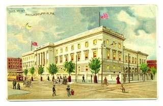 US Mint Philadelphia Hold to Light Postcard Koehler