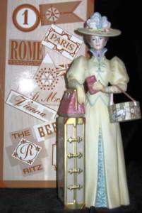 2002 AVON Mrs Albee Award Figurine Presidents Club MIB