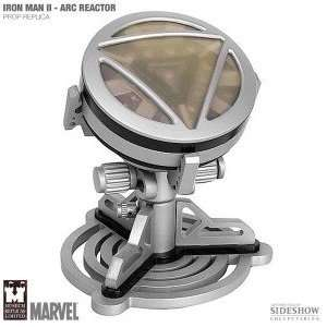 Marvel Iron Man 2 Arc Reactor Prop Replica   Silver Toys