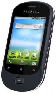 ALCATEL OT908 BLUISH BLACK ANDROID QUADBAND CELL PHONE