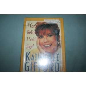 autobiography of Kathie Lee Gifford (large print): Jim Jerome: Books