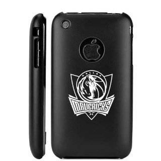 Apple iPhone 3G 3GS Black Aluminum Metal Case Dallas Mavericks