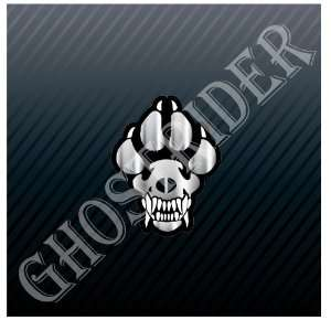 K9 Dog Paw Police Guard Dog Car Trucks Sticker Decal