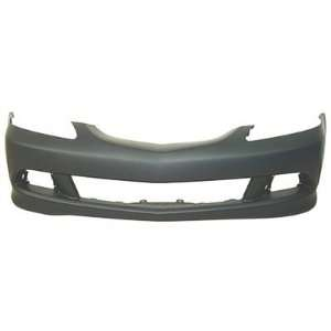 2006 Acura  on 2006 Acura Rsx Front Bumper Painted Nh578 Taffeta White  Automotive