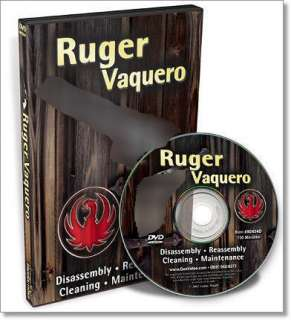 DVD COMPLETE RUGER VAQUERO/BLACKHAWK NEW DIS/REASSEMBLY