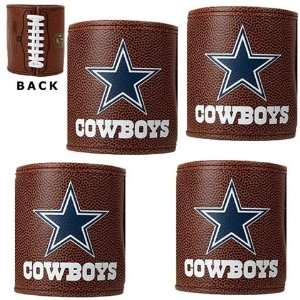Dallas Cowboys NFL Football Can Koozies 4 Pack Sports