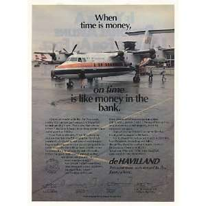 1982 Air Wisconsin de Havilland DASH 7 Plane Photo Print