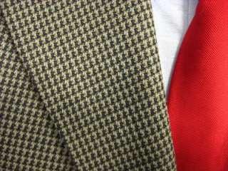 Andrew Fezza 3 button sport coat blazer jacket 46R (F46 1)