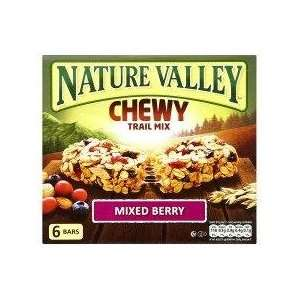 Nature Valley Trail Mix Mixed Berries 6: Grocery & Gourmet Food