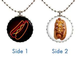 Style #2 Coney Snack Cart Street Vendor Food Fan Lover Pendant