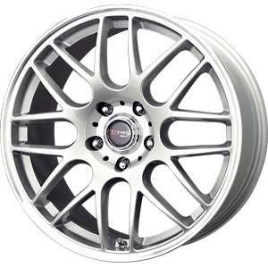 New 17X7.5 5 120 Drag Dr 37 Silver Machined Lip Wheels/Rims