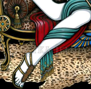 Egyptian Goddess Maat Angel Art Original PAINTING Mayet