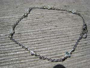 Swarovski Austrian Crystal anklet ankle bracelet CRY ab