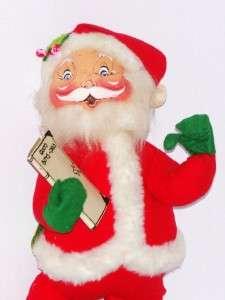 Annalee Santa with Good Boys Girls Book Doll Figure