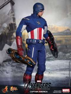 THE AVENGERS 2012 CAPTAIN AMERICA CHRIS EVANS MARVEL 1/6 NEW