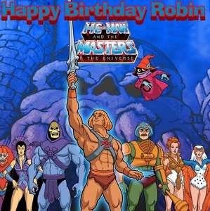 HE MAN MASTERS OF THE UNIVERSE Edible Cake Topper