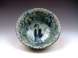 Ship From U.S* Vintage Chinese Blue&White Hand Painted Porcelain