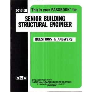 Building Srucural Engineer (9780837325699) Jack Rudman Books