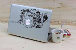 Big Camera MacBook Air/Pro Stickers Apple Mac laptop Cool Decal Art