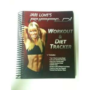 Get RIPPED! Workout & Diet Tracker (9780987675613): Jari Love: Books