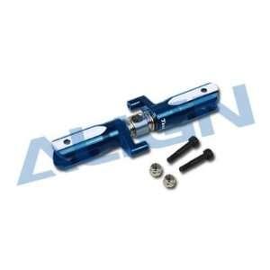 Align T REX 600 Metal Tail Rotor Holder/Blue HN6103 84: Toys & Games