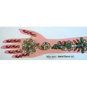 Hand, Wrist, Body   Temporary Tattoo   107: Health & Personal Care