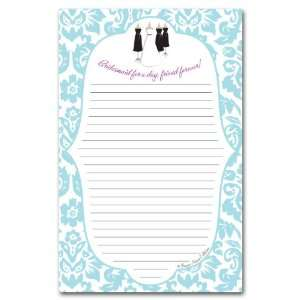Wedding Bridesmaid Perfect Pad: Office Products