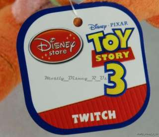Disney Toy Story 3 Twitch Bug Doll Bean Bag Plush NEW