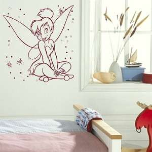 FAIRY wall sticker graphic art decal giant stencil vinyl mural bn63
