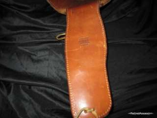 RARE Early Pat Pend ARVO OJALA WESTERN Cowboy LEATHER GUN BELT HOLSTER
