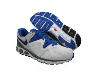 New Nike Mens Air Max Turbulence+17 White/Blue Running Shoes US SIZES