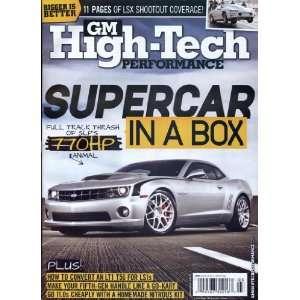GM High   Tech Performance  Magazines