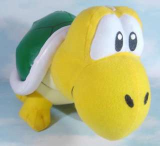 super mario bros koopa troopa 9.5 soft plush toy doll