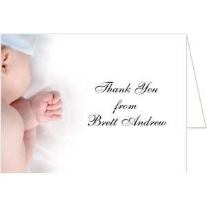 Baby Boy Baptism Christening Thank You Cards   Set of 20: Baby