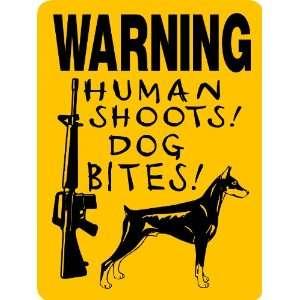 DOBERMAN PINSCHER DOG SIGN ALUMINUM Everything Else