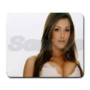 Lucy Pinder Sexy Mouse Pad   9.25 x 7.75 Mouse Mat   Deluxe Mousepad
