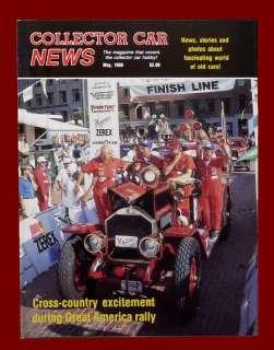 COLLECTOR CAR NEWS MAY 1989,1941 1960 CADILLAC CONVERTIBLE,RACE,HOT