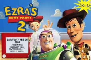 CUSTOM TOY STORY BIRTHDAY INVITATIONS INVITES 1 2 3
