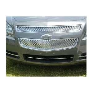 09 10 11 Chevy Malibu Chrome Grille LTZ Style (2 Piece) Automotive