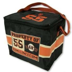 SAN FRANCISCO GIANTS TIM LINCECUM 12 PACK COOLER LUNCH BAG