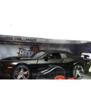 Badd Ride Dodge Challenger Black Extereme Detail Diecast
