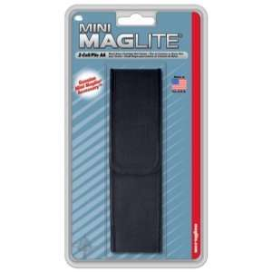 MagLite   Nylon Full Flap Holster, AA, Black: Sports