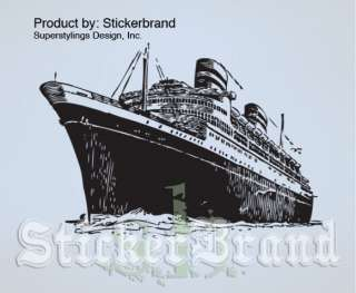 Vinyl Wall Decal Sticker Titanic Cruise Ship Large