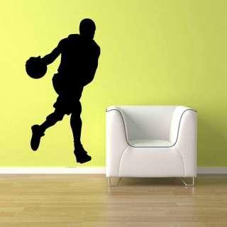 Basketball Player Boy Room Wall Vinyl Decal Sticker