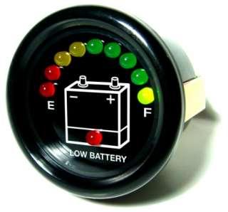NEW 48 VOLT 48V EZGO EZ GO GOLF CART LED Battery Meter
