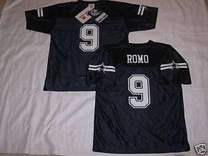 NEW Dallas Cowboys TONY ROMO Kids Youth Boys Girls Jersey Navy Blue