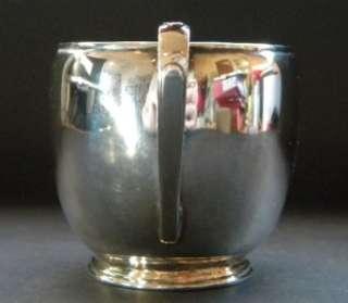Roberts & Belk Art Deco Arts & Crafts Sterling Silver Four Piece Tea