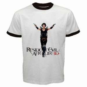 NEW RESIDENT EVIL AFTERLIFE 3D MILLA JOVOVICH T SHIRT